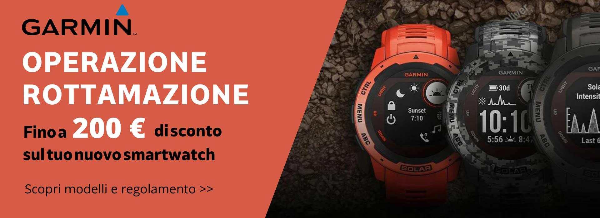 Rottama il tuo vecchio orologio e ricevi subito uno sconto fino a 200 €